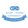 Stop.Think.Connect. 5th Anniversary Logo